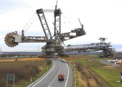 Mesin Penggali Batu Bara Terbesar Di Dunia!!