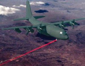 hercules dilengkapi senjata laser